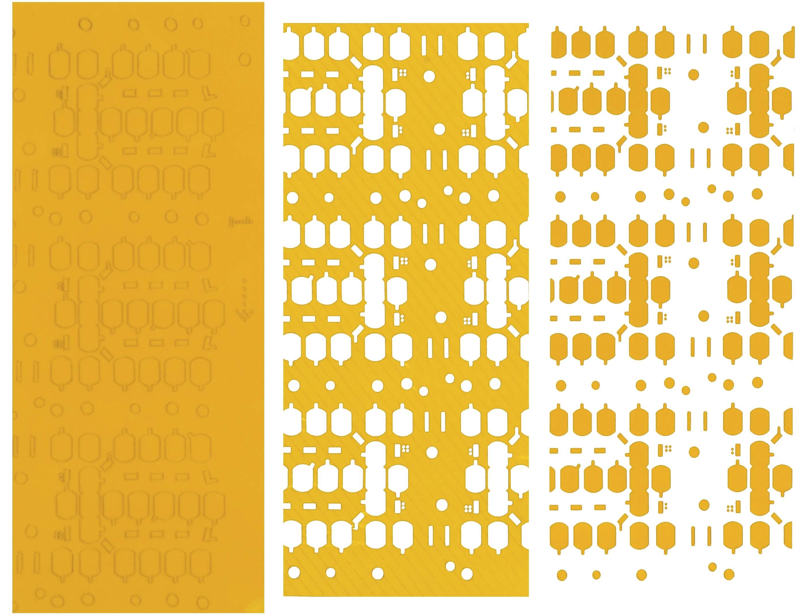 原产于德国的紫外(UV)激光设备,采用紫外二极管泵浦固态(UV-DPSS)激光器,可进行精密激光应用技术领域涵盖FPC成型、FPC钻微孔、FPC钻盲孔、高分子材料切割、LTCC低温共烧陶瓷线路板切割及钻孔服务、高精密成型元器件外形成型技术应用等服务。